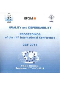 Proceedings of the 14th International Conference on Quality and Dependability – CCF 2014