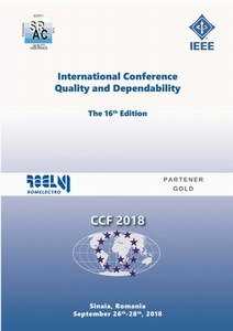 Proceedings of the 16th International Conference on Quality and Dependability – CCF 2018